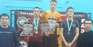 THE FIRST PLACE OF REGIONAL GRAPPLING TOURNAMENT