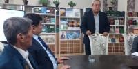PROFESSOR PSU SERIK YELIKPAI PRESENTED A NOVEL DEDICATED TO BUGENBAY BATYR