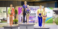PSU STUDENT - SILVER WINNER OF FINAL OF THE WORLD CUP IN SPORTS ACROBATICS