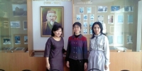 PROFESSOR FROM JAPAN IS STUDYING THE HERITAGE OF THE SCIENTIFIC-ENCYCLOPEDIST M. ZH. KOPEYEV